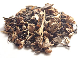loose leaf earth tea blend