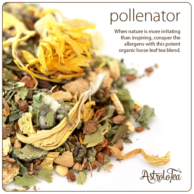 Organic Loose Leaf Allergy Recovery Tea