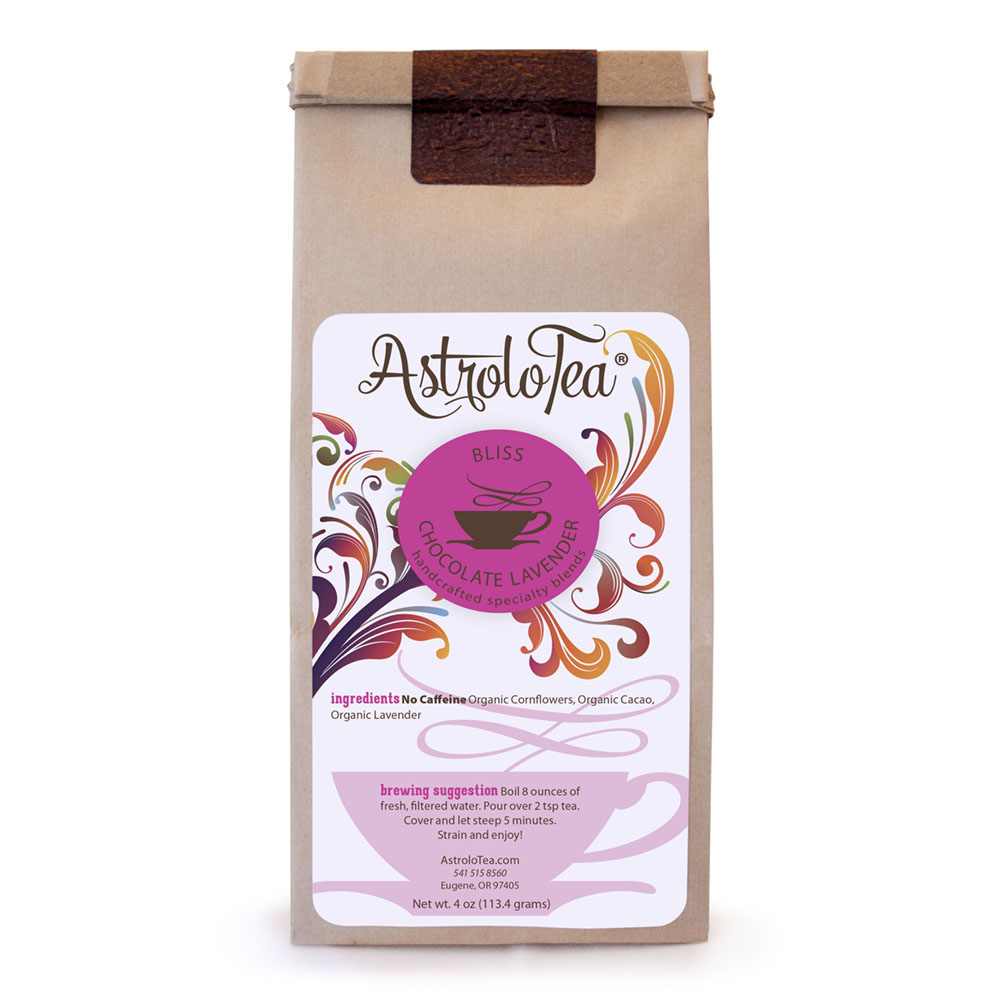 Chocolate Lavender Loose Leaf Tea Blend