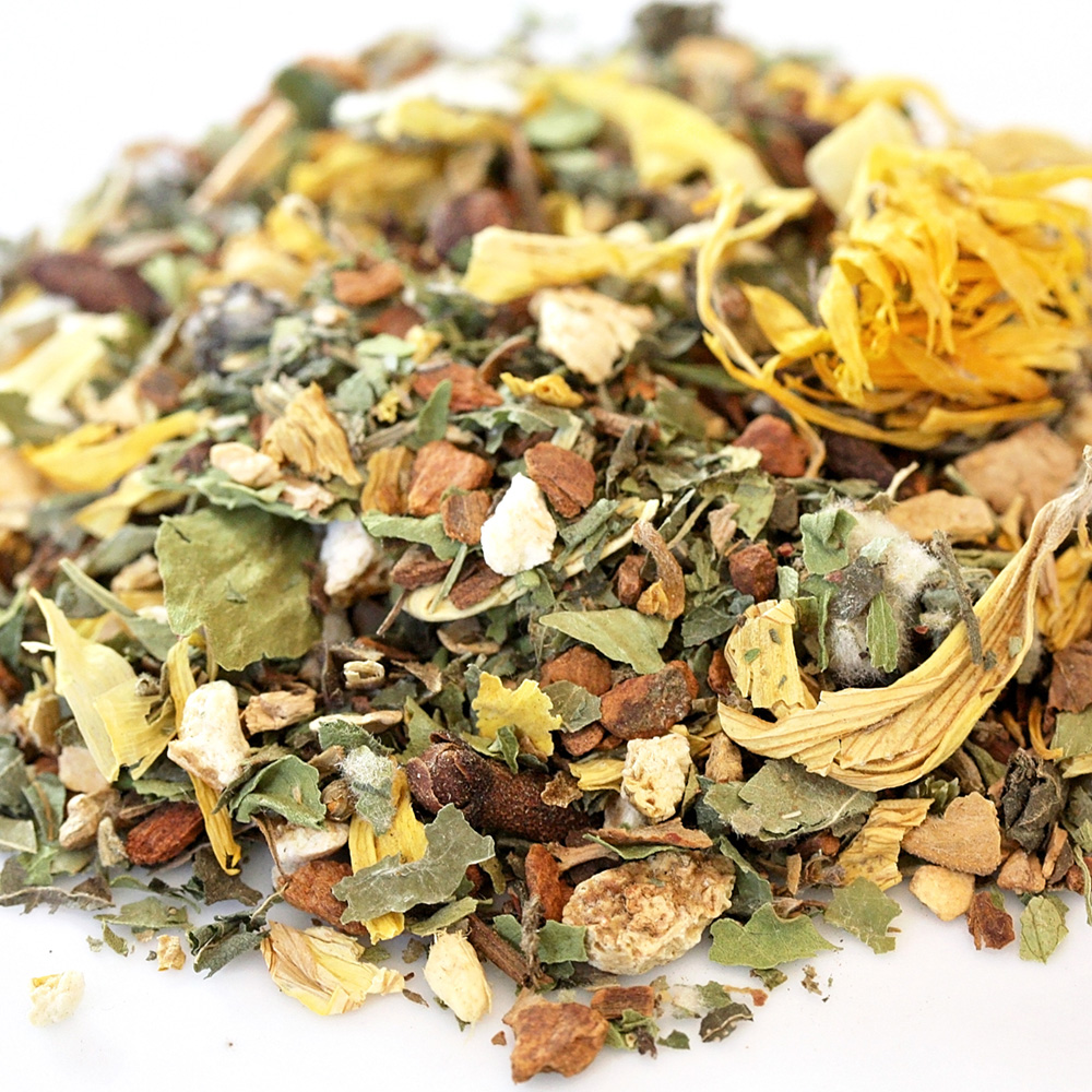 The Pollenator Organic Loose Leaf Tea For Allergies