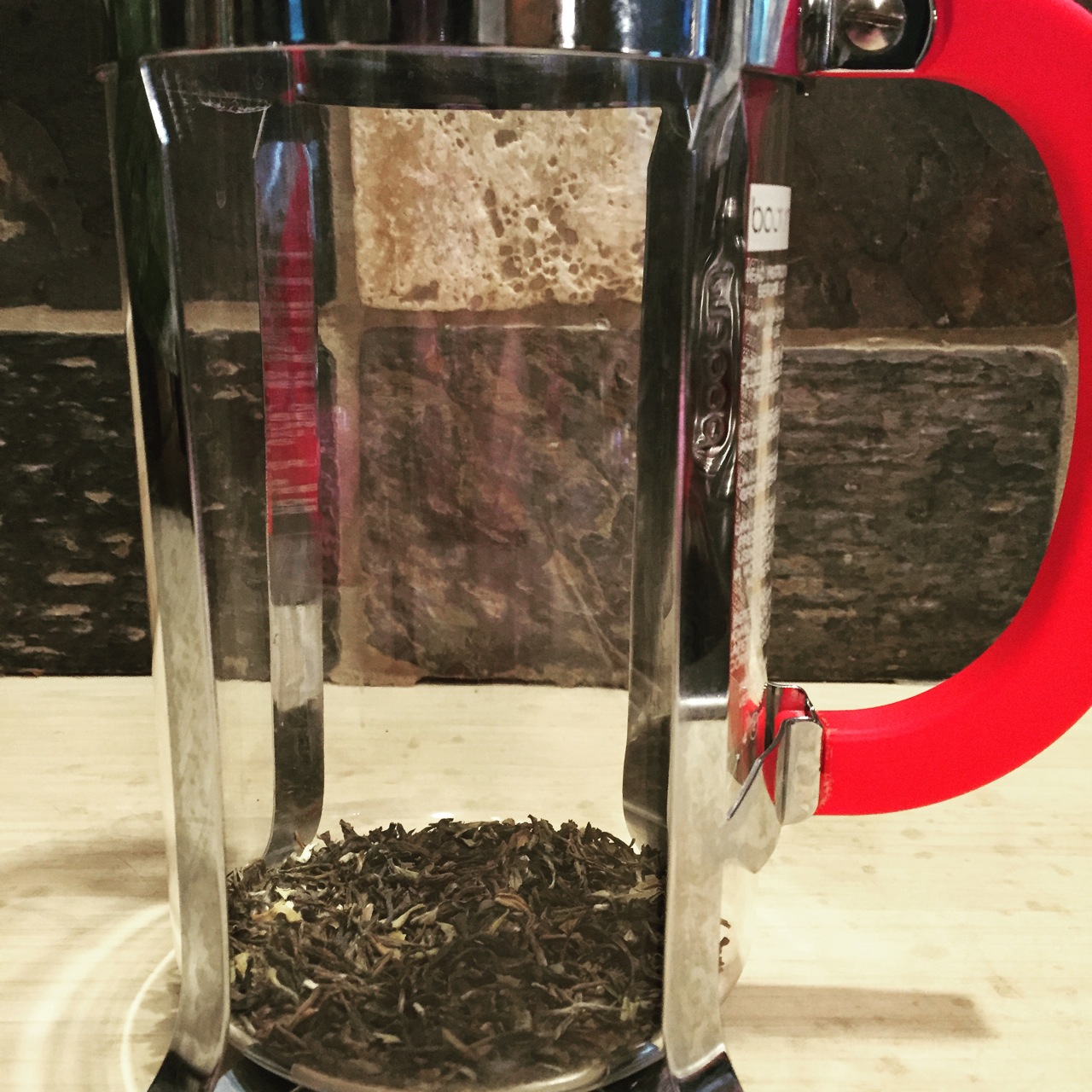 French Press Tea Brew