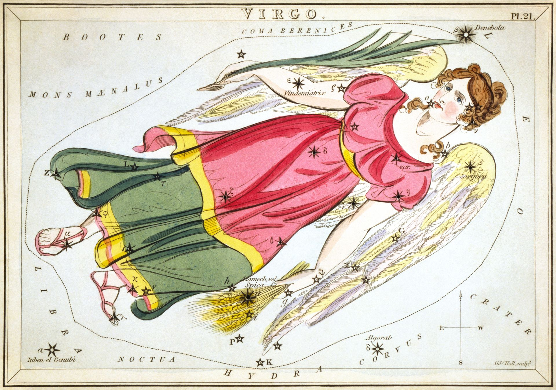The Constellation Virgo